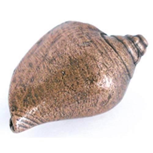 Voluntidae Conch Knob - Antique Matte Copper