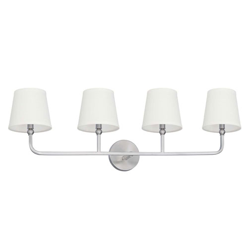 Capital Lighting Fixture Company Dawson Brushed Nickel Four-Light Vanity