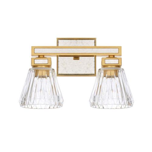 Abella Capital Gold Two Light Vanity