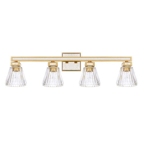 Abella Capital Gold Four-Light Vanity