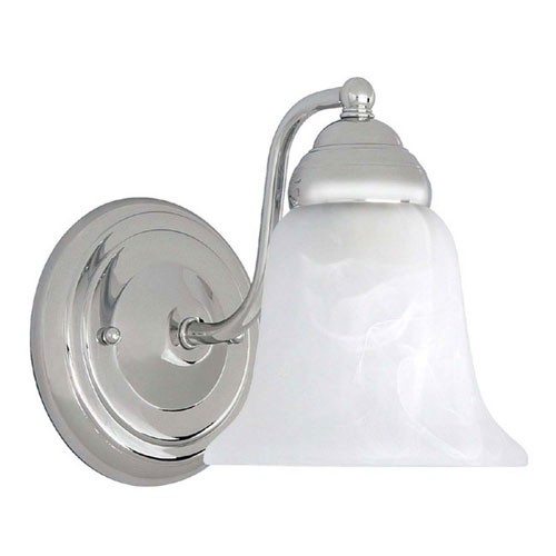 Capital Sconces Chrome Six-Inch One-Light Sconce