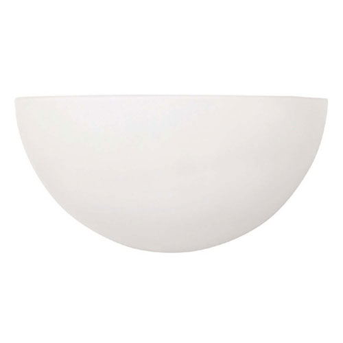 Capital Sconces Matte White Opal Glass 10-Inch One-Light Sconce