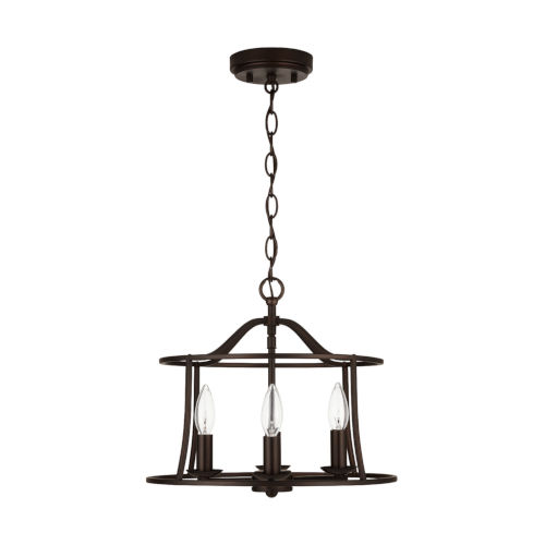 HomePlace Cameron Four-Light Semi-Flush Mount and Pendant
