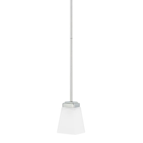 HomePlace Baxley Polished Nickel 51-Inch One-Light Mini Pendant