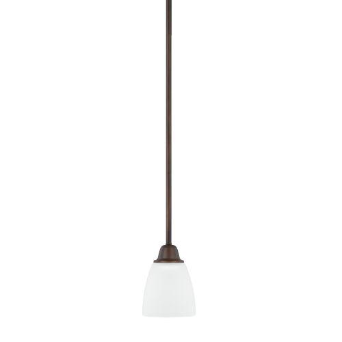 HomePlace Trenton Bronze 51-Inch One-Light Mini Pendant