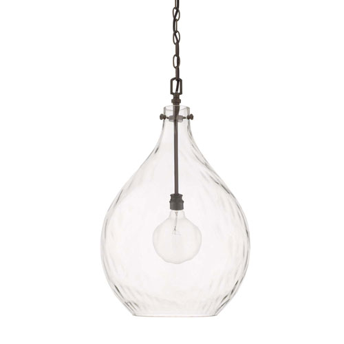 Bristol Black One-Light Pendant