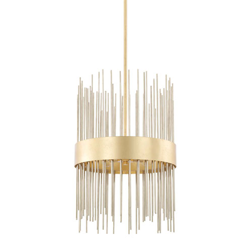 Lena Gold Four-Light Pendant