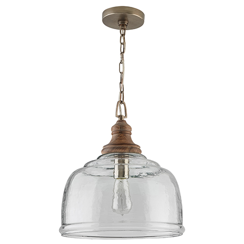 Independent Grey Wash One-Light Pendant