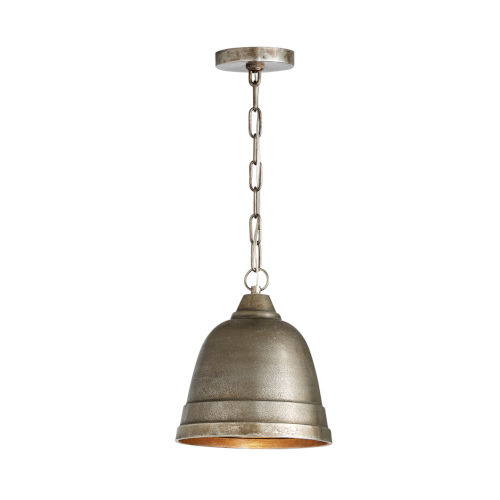 Oxidized Nickel 10-Inch One-Light Pendant