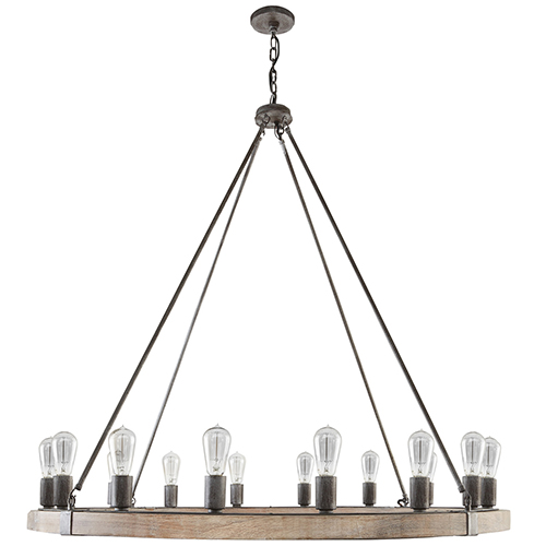 Independent Urban Wash 16-Light Chandelier