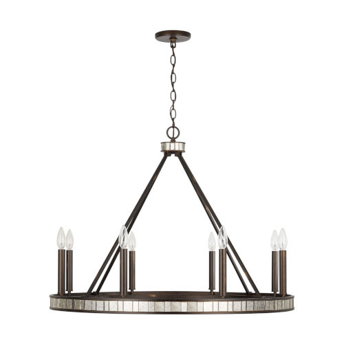 Chaucer Eight-Light Chandelier