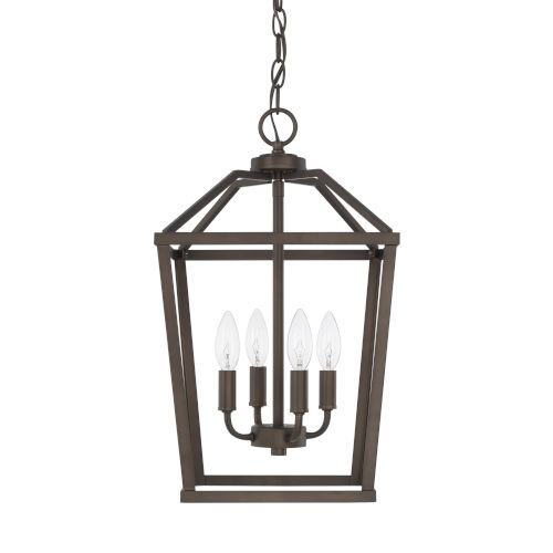 HomePlace Bronze 11-Inch Four-Light Pendant