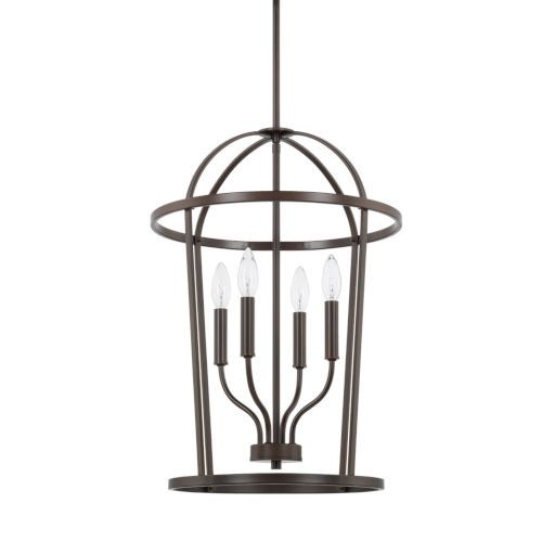 HomePlace Greyson Bronze 16-Inch Four-Light Pendant