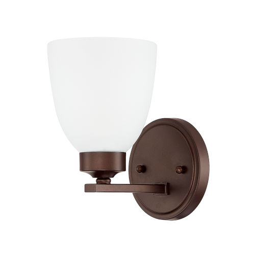 HomePlace Jameson Bronze Nine-Inch One-Light Wall Sconce