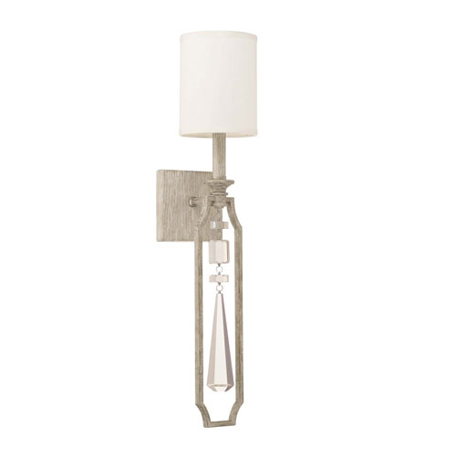 Serena Winter White One-Light Sconce