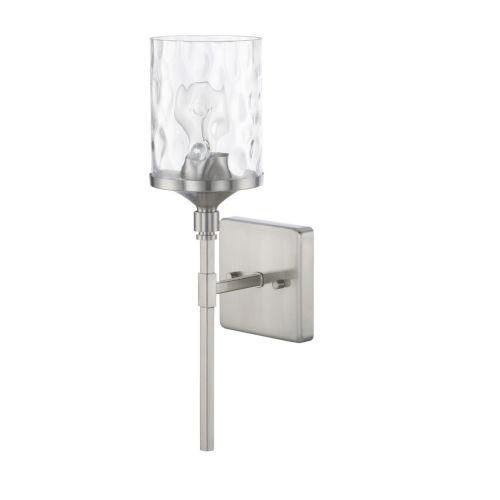 HomePlace Colton Brushed Nickel 17-Inch One-Light Wall Sconce