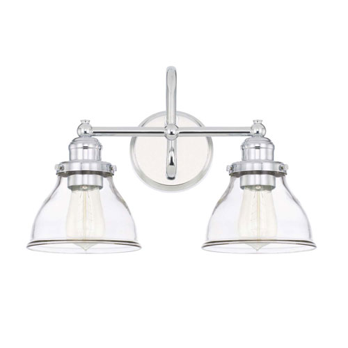 Capital Lighting Fixture Company Baxter Chrome Two Light Vanity