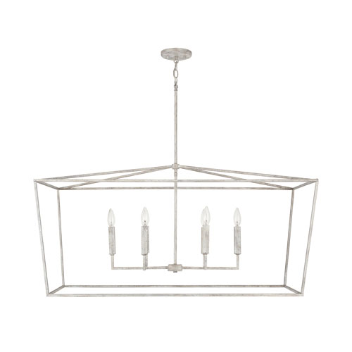 Thea Mystic Sand Six-Light Island Chandelier