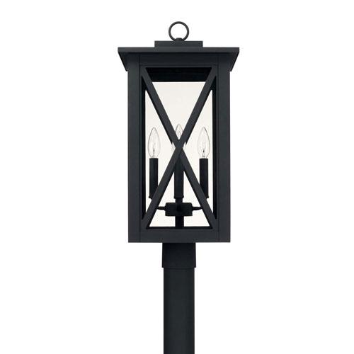 Avondale Black Four-Light Outdoor Post Lantern