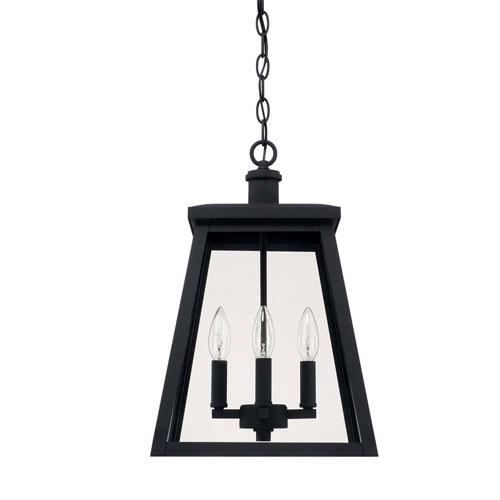 Belmore Black Four-Light Outdoor Hanging Lantern
