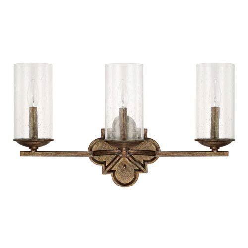 Avanti Rustic Three-Light Vanity