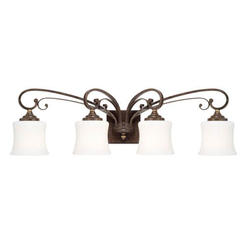 Kingsley Dark Spice Four-Light Vanity