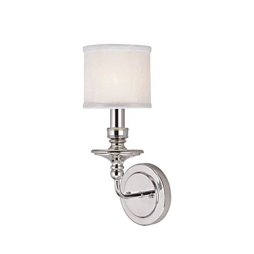 Capital Lighting Fixture Company Midtown Polished Nickel One-Light Sconce