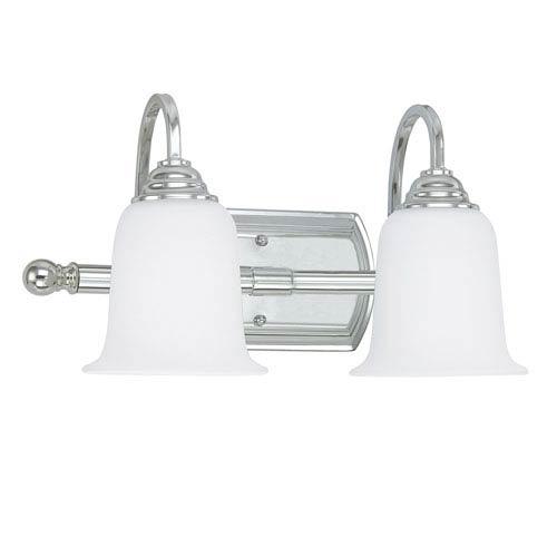 Capital Lighting Fixture Company Chrome Two-Light Vanity