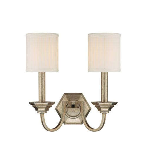 Fifth Avenue Winter Gold Two-Light Sconce