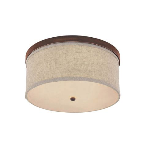 Capital Lighting Fixture Company Midtown Burnished Bronze Flush Mount