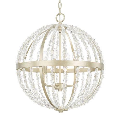 Capital Lighting Fixture Company Camille Soft Gold Four-Light Pendant