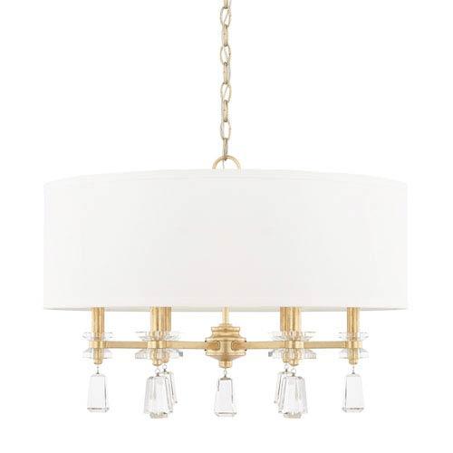 Milan Capital Gold Six-Light Pendant