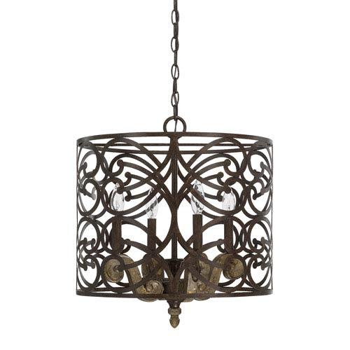 Capital Lighting Fixture Company Renaissance Four-Light Pendant