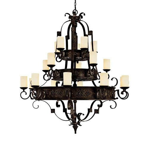 Capital Lighting Fixture Company River Crest Rustic Iron Twenty-Light Chandelier