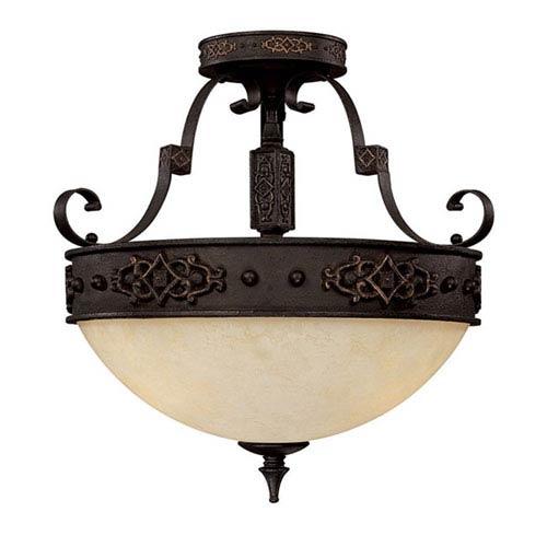 Capital Lighting Fixture Company River Crest Semi-Flush Ceiling Light