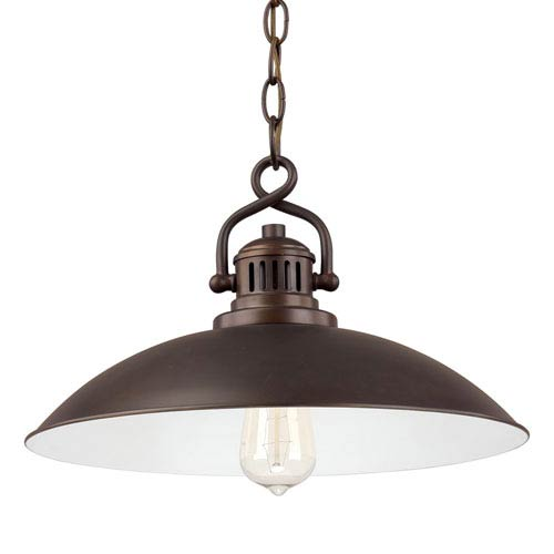 Capital Lighting Fixture Company Oneill Burnished Bronze One-Light Pendant