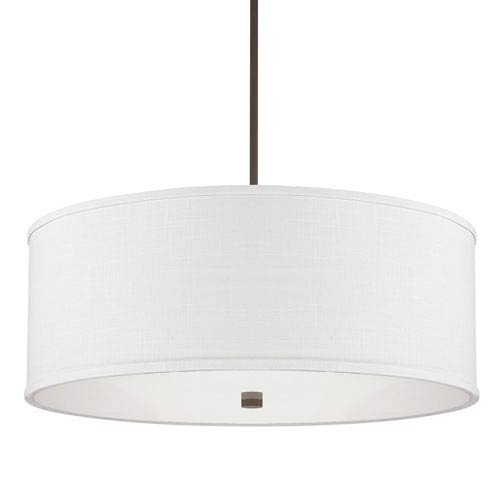 Midtown Burnished Bronze Four-Light Pendant