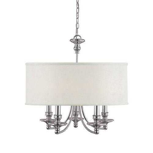 Nickel Dining Room Chandeliers: Capital Lighting Fixture Company Midtown Polished Nickel