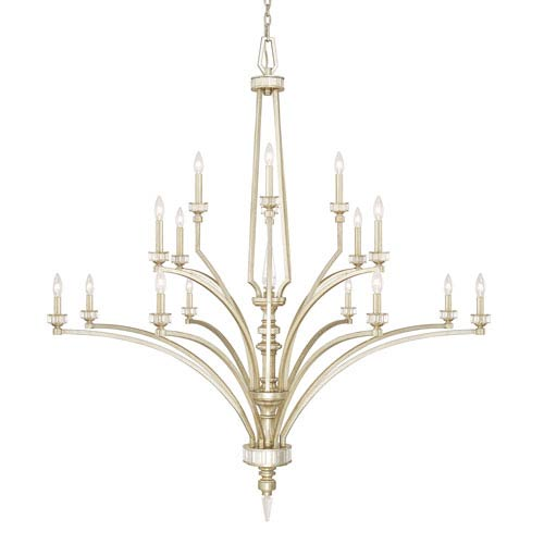 Capital Lighting Fixture Company Olivia Winter Gold Sixteen-Light Chandelier