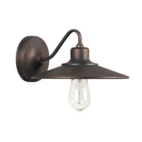 Capital Lighting Fixture Company Urban Burnished Bronze One Light Sconce