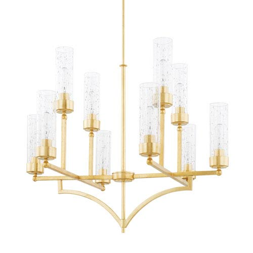 Regan Capital Gold 10-Light Chandelier