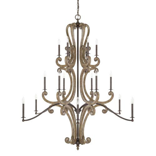 Capital Lighting Fixture Company Renaissance 18 Light Chandelier