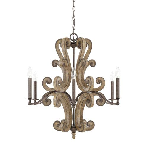 Renaissance Six-Light Chandelier