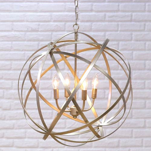 Light Fixture Company: Capital Lighting Fixture Company Axis Winter Gold Four