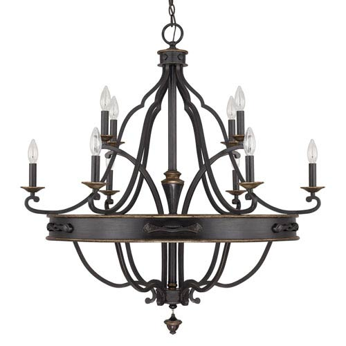 Capital Lighting Fixture Company Wyatt Surrey 10-Light Chandelier