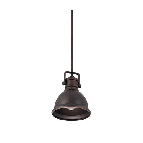 Capital Lighting Fixture Company Burnished Bronze One Light 9W x 48.5H Pendant