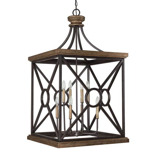 Landon Surrey Eight-Light Foyer Pendant
