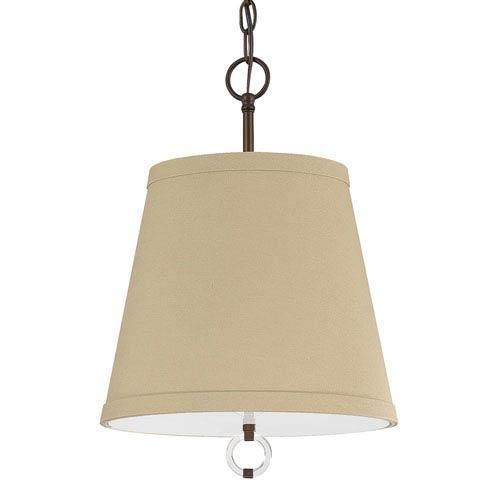 Capital Lighting Fixture Company Taylor Burnished Bronze Three-Light Pendant