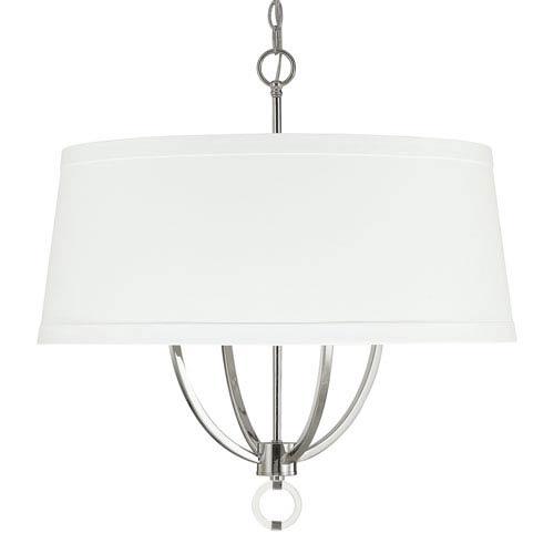 Capital Lighting Fixture Company Taylor Polished Nickel Four-Light Pendant