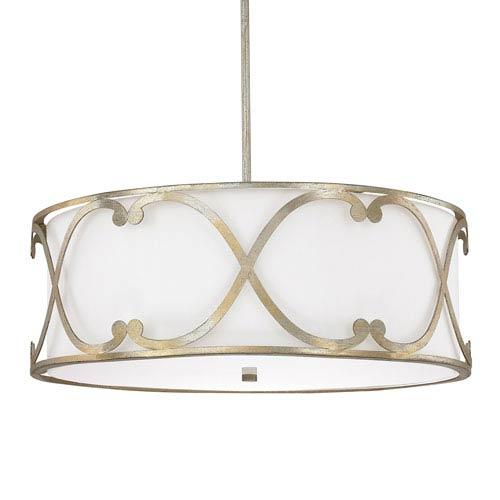 Capital Lighting Fixture Company Alexander Winter Gold Four-Light Pendant